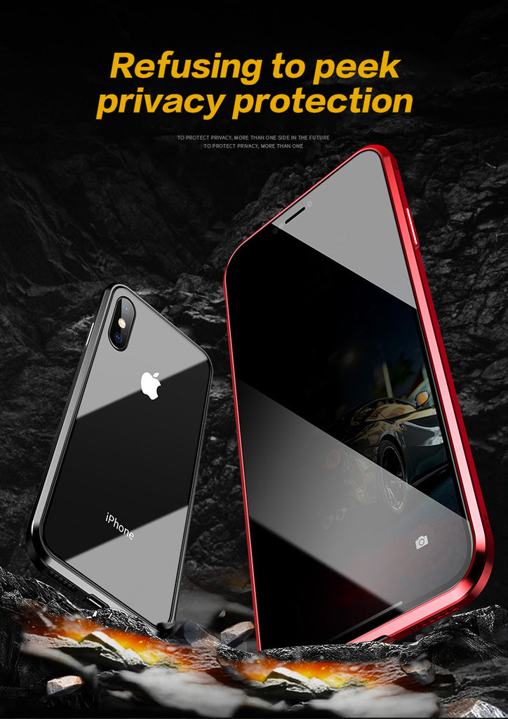 Anti-Peeping Privacy Magnetic Adsorption Case