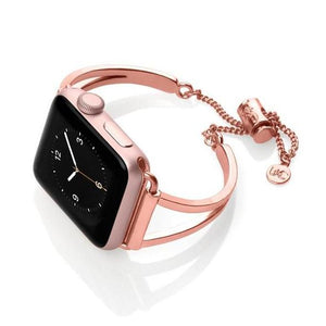 Apple Watch Feminine Replacement Bracelet Stainless Steel Strap(Factory Outlet)