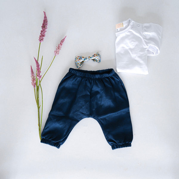 The little Harem Pants - navy