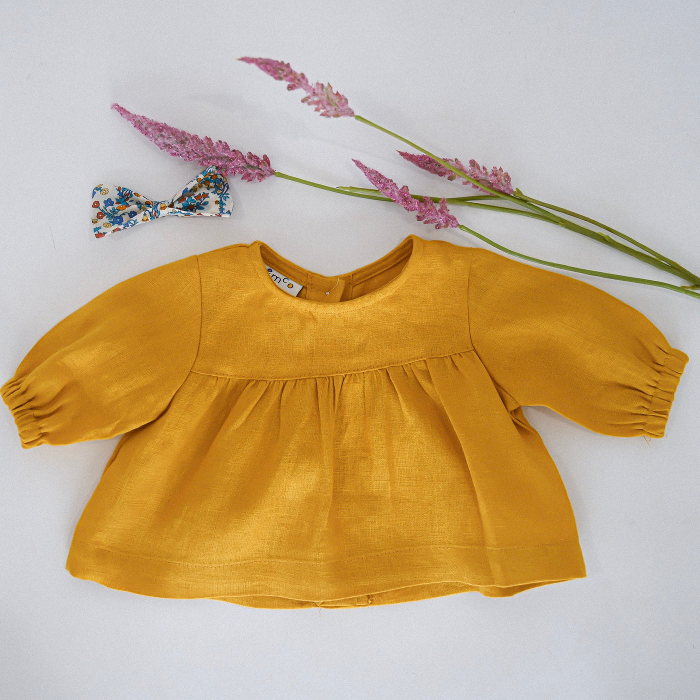 The Little Dot Top - mustard