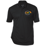 Cat 5 Three-Button Polo Polo Shirts- Warrior Design Co. | Quality Affordable Branding Solutions