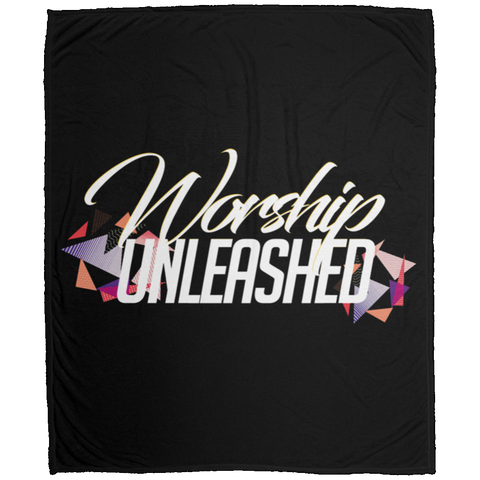 Worship Unleashed Medium Velveteen Micro Fleece Blanket