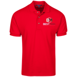 Best Man Cotton Pique Knit Polo Polo Shirts- Warrior Design Co. | Quality Affordable Branding Solutions