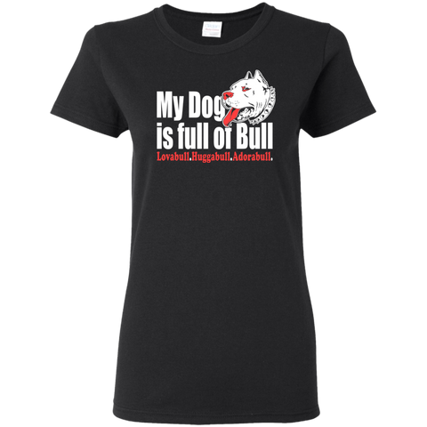Pit Bull Women's T-Shirt T-Shirts- Warrior Design Co. | Quality Affordable Branding Solutions