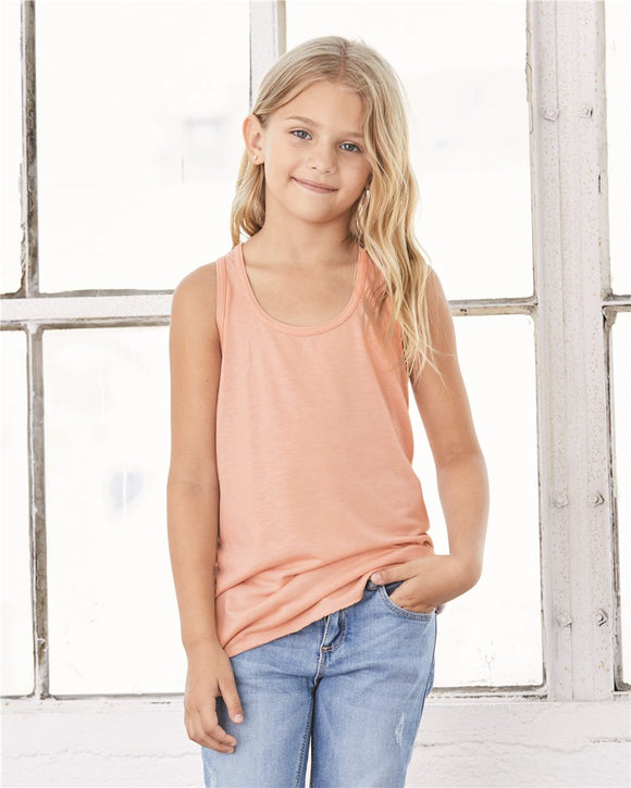 Youth Flowy RacerbackTank