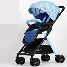 Load image into Gallery viewer, Lightweight Portable Baby Stroller With Large Storage Bag,Sunshade Folding Baby Carriage,High Landscape Prams Baby Strollers