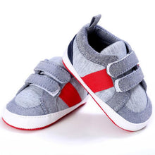 Load image into Gallery viewer, Striped Sneakers baby boy