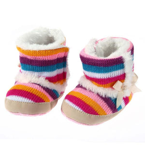 Baby Girls rainbow Booties