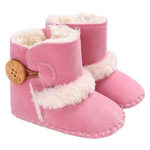 Warm Autumn Winter Fleece Baby Shoes Toddler Soft Sole Boots Girls Boys Toddlers Snow Boots Sneakers