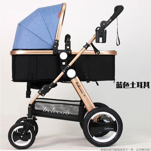 Luxury Baby Stroller Lightweight Baby Carriage Strollers Kids Pram Traval Pushchair For 6-36 Months, Kinderwagen, bebek arabasi