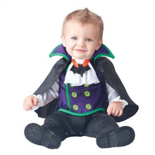 Load image into Gallery viewer, Vampire Girls Set Clothing Boys New High Baby Bat Co-splay Pink Costume Toddler Kids Romper Halloween Quality