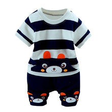 Load image into Gallery viewer, Kids Boys Girls Cartoon Suit Summer Clothes Sets Short Sleeve Tops Shorts 2 pcs Sets Children 0-36 Month Baby Costume