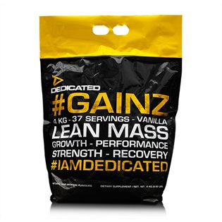 #GAINZ 4kg Dedicated Nutrition