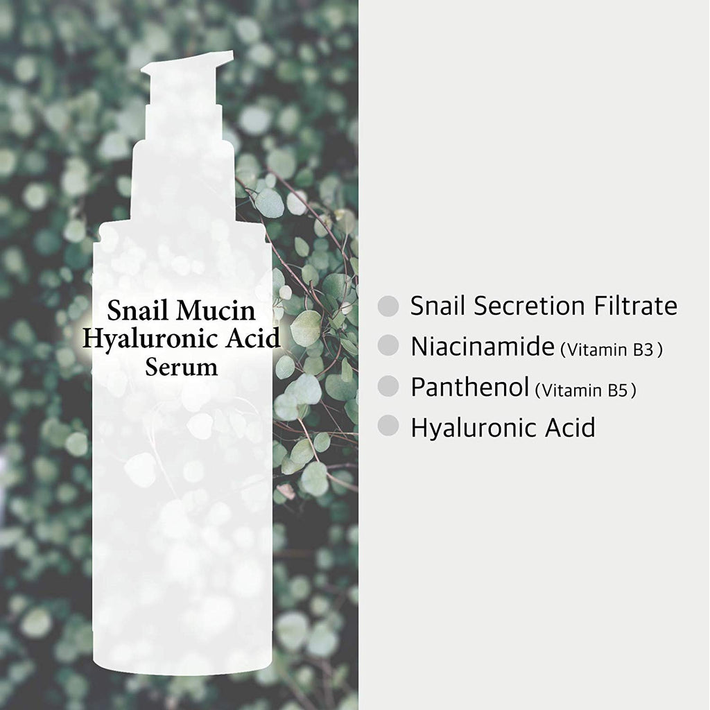 Snail Mucin Power Serum 120ml w Niacinamide 2% - Morning Recovery, Remedy Skin Repair
