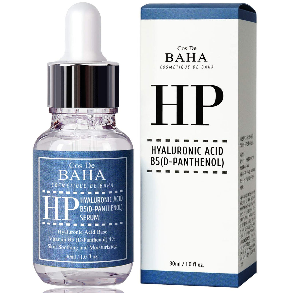 Vitamin B5 4% + Hyaluronic Acid Serum 30ml - Hydrating Face + Anti Wrinkle, D-Panthenol