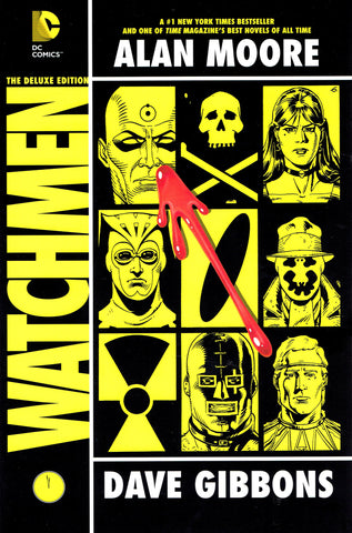 Watchmen Deluxe Hardcover, Signed by Dave Gibbons!