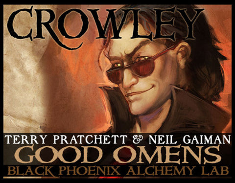 "Good Omens' ""Crowley"" Fragrance, from BPAL"