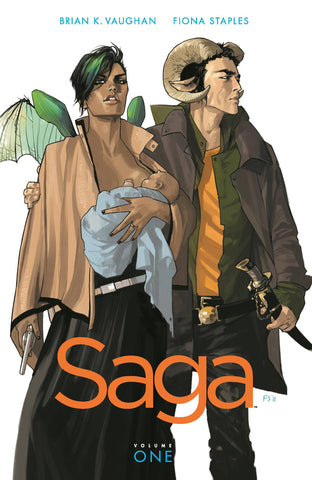 Saga Book One TP, Signed by Brian K. Vaughan!