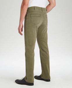 #212 - Olive Stretch Traditional Straight Cut