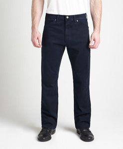 #283N - Navy Lightweight Stretch Twill Pant
