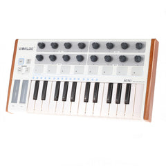 25-Key USB MIDI Keyboard Controller