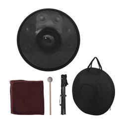9 Notes Handpan Hand Drum with Carrying Bag ZA34