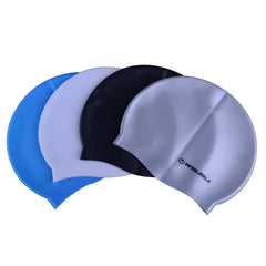 Silicone Swimming Cap with Ear Protect