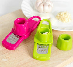 Garlic Press Peeler Grater