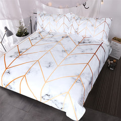 Marble Texture Bedding Set Queen