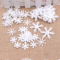 100pcs Snowflake Winter Home Decoration