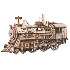 Mechanical Gears 3D Wooden Puzzle