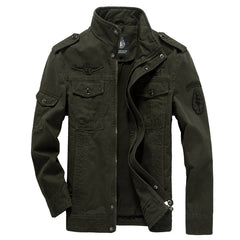 Cotton Military Jacket Men 2019 Autumn Soldier