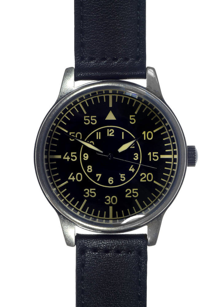 Replica WW2 German Lufwaffe Pattern Military Watch in Retro Pattern Casing