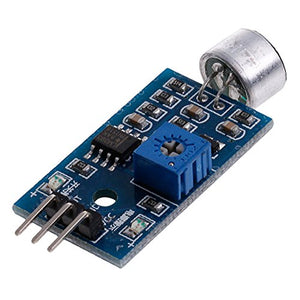 LM393 Microphone Amplifier Sound Sensor MIC Voice Module for Arduino