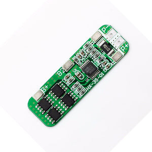 3S 6A 12V 18650 Lithium Battery Protection Board