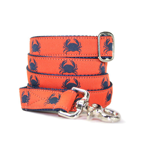 "1"" Crabby Orange Leash"