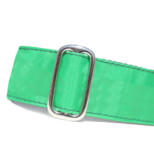 Sailcloth Green ID Tag Collar