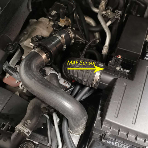 Nissan Navara power loss due to dirty MAF sensor