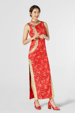 East-Meets-Dress-Chinese-Wedding-Dress-Cheongsam-Qipao