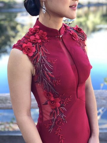 East-Meets-Dress-Chinese-Wedding-Dress-Cheongsam-Qipao-Marilyn-Dress