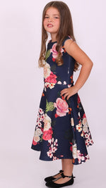 Children's Ciara Floral Skater Dress