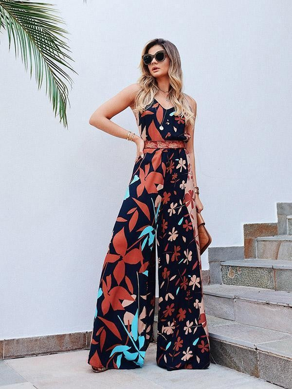 Living in Paradise Jumpsuit - Sotra Fashion