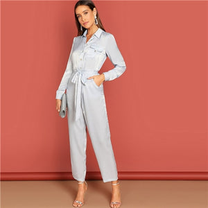Going Out Tonight Jumpsuit - Sotra Fashion