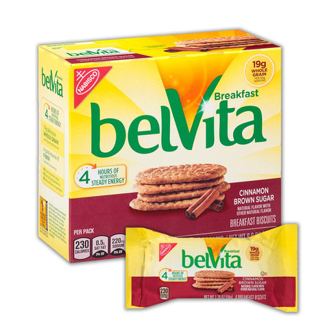 BELVITA Cinnamon Brown Sugar Breakfast Biscuits - 8 Count