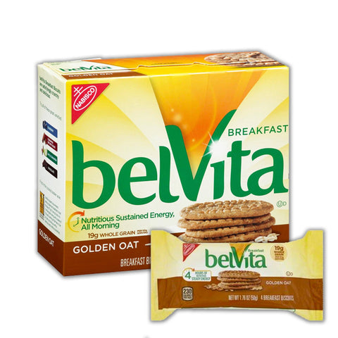 BELVITA Golden Oat Breakfast Biscuits - 8 Count