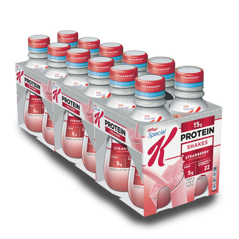 KELLOGG'S SPECIAL K Strawberry Protein Shake - 12 Count