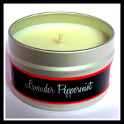 Lavender Peppermint Soy Candle
