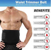 Image of Waist Trimmer Fitness Slimmer AB Belt for Weight Loss and Belly Fat Burner