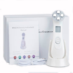 5 in 1 RF & EMS LED Light Therapy for Face Rejuvenation