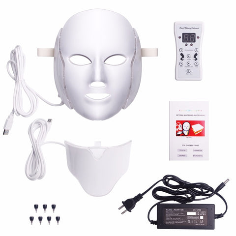 7 Colors LED Photon Face Mask Machine